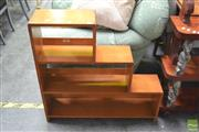 Sale 8406 - Lot 1136 - Stepside Open Bookcase