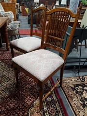 Sale 8889 - Lot 1084 - Set of 5 Vintage Spindle Back Dining Chairs