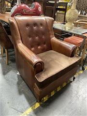 Sale 8896 - Lot 1030 - Leather Club Chair