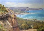 Sale 8972A - Lot 5016 - Theo Delgrosso (1947 - 2011) - Angelsea Coast Panorama, 1989 64 x 90 cm