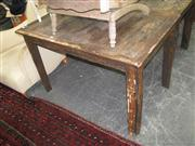 Sale 7933A - Lot 1190 - Rustic Kitchen Table