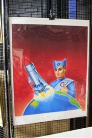 Sale 8326 - Lot 1093 - Print of New Thunderbirds