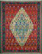 Sale 8345C - Lot 81 - Persian Somak 151cm x 122cm