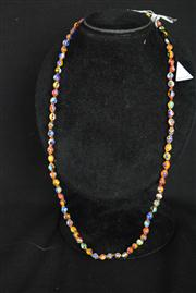 Sale 8396A - Lot 13 - Murano Glass Millefiori Necklace