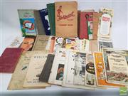 Sale 8900 - Lot 30 - Collection of Household Ephemera