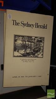 Sale 8537 - Lot 2396 - 2 Facsimile Volumes The Sydney Herald, April 18, 1831 to January 2, 1832