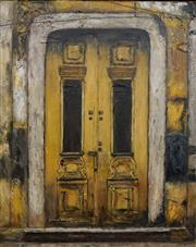 Sale 8732A - Lot 5067 - Stanley Perl (1942 - ) - Doors of India, no. 8 50.5 x 40.5cm