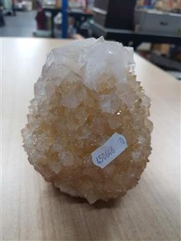 Sale 9176 - Lot 2651 - Yellow Egg Shaped Crystal