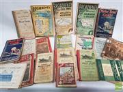 Sale 8900 - Lot 28 - Collection of Motor Road Guides; Motor Tours in N.S.W.; etc