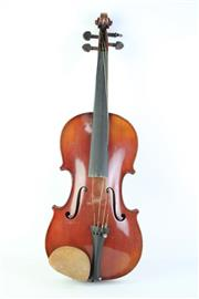 Sale 8823M - Lot 19 - Cased Violin With Bow