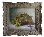 Sale 9040H - Lot 51 - Jules Rozier (French 1821-1882) - Still Life signed