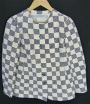 Sale 7982B - Lot 6 - Givenchy,  chequerboard design jacket (M)