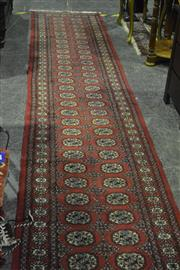 Sale 8058 - Lot 1069 - Red Hall Runner (580 x 68cm)