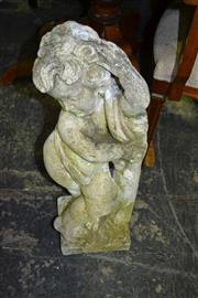 Sale 8093 - Lot 1496 - Concrete Cherub