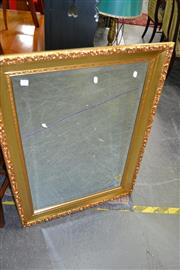 Sale 8115 - Lot 1137 - Rectangular Gilt Mirror with Moulded Frame