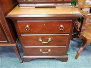 Sale 8672 - Lot 1018 - Drexel Timber Beside with Single Drawer & Door