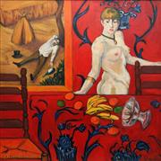 Sale 8819 - Lot 2054 - Ruth Stone - Untitled ( Homage to French Masters) 120 x 120cm