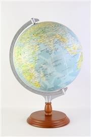 Sale 8818N - Lot 633 - A World Globe on Timber Stand