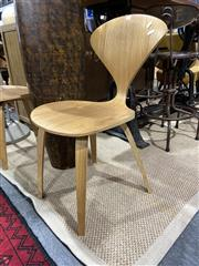 Sale 8901F - Lot 1019 - Pair of Norman Cherna Replica Side Chairs