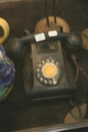 Sale 7876 - Lot 94 - Black Bakelite Telephone