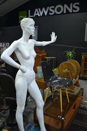 Sale 8105 - Lot 1035 - Female Mannequin with Masculine Head