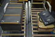 Sale 8105 - Lot 1036 - Collection of Suitcases ( 2 Suitcases and a Satchel)