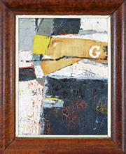 Sale 8203A - Lot 3 - Kenneth Edwin Hood (1928 - 2002) - Abstract, 1959 40 x 29cm