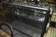 Sale 8368 - Lot 1087 - Glass Display Cabinet (key in office)