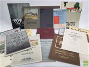 Sale 8900 - Lot 32 - Collection of Wunderlich Product Catalogues