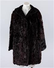 Sale 8760F - Lot 148 - Astrakhan Fur Coat