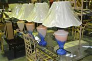Sale 8165 - Lot 1062 - Collection of 4 Table Lamps