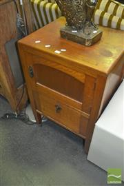 Sale 8331 - Lot 1037 - Maple Pot Cupboard