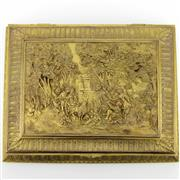 Sale 8342 - Lot 47 - French Gilt Metal Jewellery Box