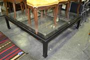 Sale 7987A - Lot 1370 - Glass Top Coffee Table