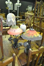 Sale 8165 - Lot 1046 - Collection of 5 Varied Table Lamps