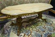 Sale 8550 - Lot 1261 - Marble Top Coffee table