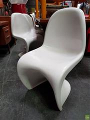 Sale 8629 - Lot 1077 - Set of Five Panton Chairs