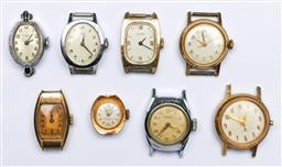 Sale 9144 - Lot 109 - A collection of watches to include rolled gold, missing bands