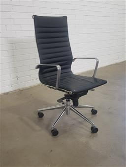 Sale 9151 - Lot 1313 - Eames style office chair (h:108 x w:56cm)