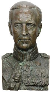 Sale 8169 - Lot 9 - Bronze Bust of Alexander Hore-Ruthven VC GCMG CB DSO PC