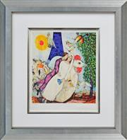 Sale 8188A - Lot 32 - After Marc Chagall (1887- 1885) - The Wedding 31 x 28cm