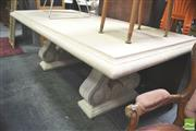 Sale 8302 - Lot 1049 - Composite Outdoor Table