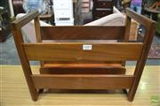 Sale 8364 - Lot 1045 - 1960s Teak Magazine Rack