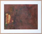 Sale 8677B - Lot 558 - Artist unknown, Abstract Landscape, work on paper, 60cm x 84cm