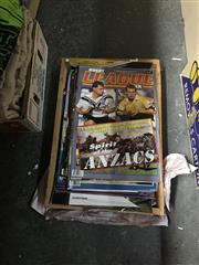 Sale 8702 - Lot 2492 - Box of Rugby League Magazines