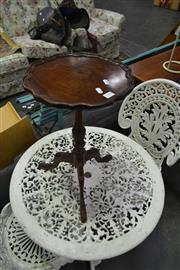 Sale 8159 - Lot 1055 - Timber Wine Table