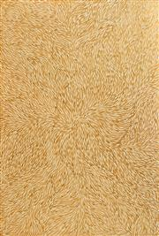 Sale 8321 - Lot 584 - Jeannie Petyarre (c1956 - ) - Bush Yam Leaf, 2007 181 x 122cm (framed & ready to hang)