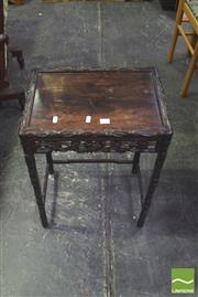 Sale 8328 - Lot 1020 - Rosewood Chinese Side Table