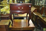 Sale 8380 - Lot 1060 - Single Drawer Bedside Cabinet
