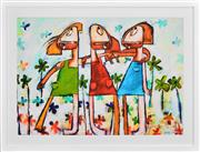 Sale 8415 - Lot 529 - Janine Daddo (1959 - ) - Forever Friends 77 x 108cm (frame size: 98 x 128.5cm)